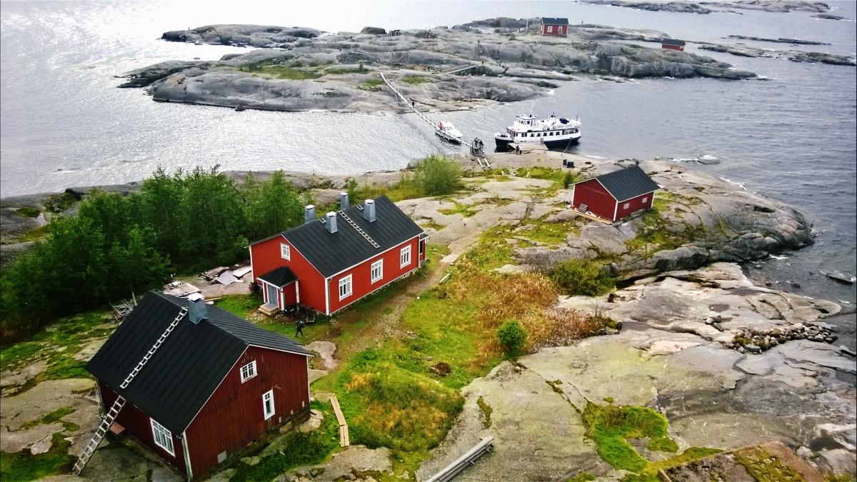 Маяк Sӧderskär или в поисках Муми-дома в Финском заливе