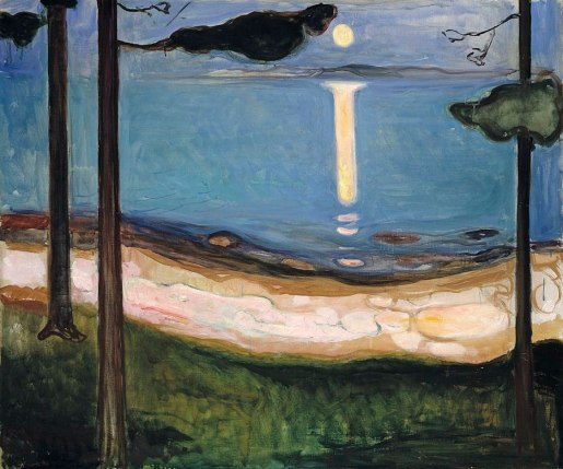 Норвежский пейзаж на картине Эдварда Мунка/Edvard Munch