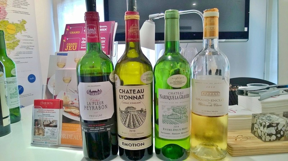 Wine selection for the class all photos by @ksenia_kosheleva