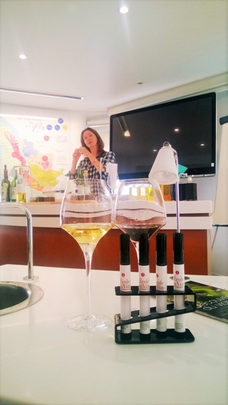 Jane Anson, wine-journalist and the tutor at L'Ecole du Vin all photos by @ksenia_kosheleva